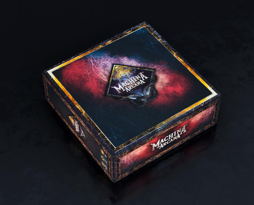 Eine große Schachtel des Grundspiels